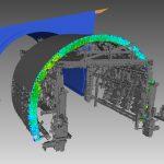 Cintre-Tunnel 3D-Laserscan