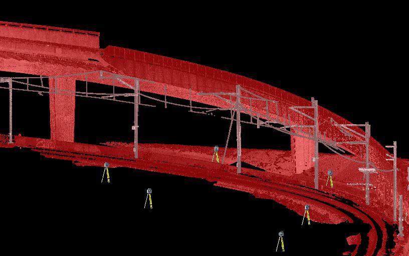 Laserscan Brücke
