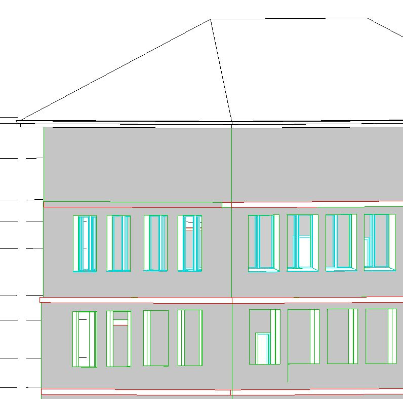 3D-Gebäude Modell