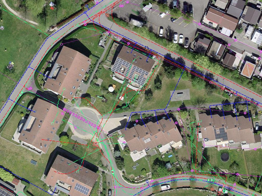WebGIS Ausschnitt Luftbild und LK