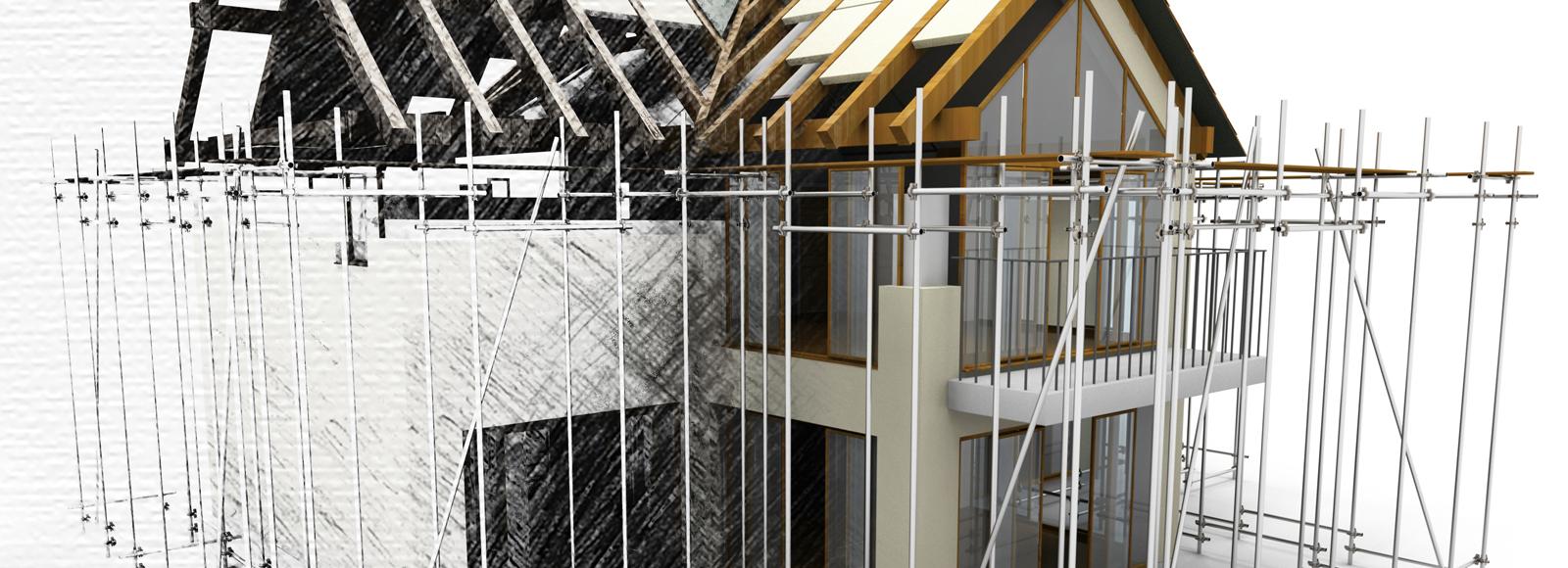 Gebäude, Modell